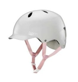 Bern Bern, Bandita, Helmet, Satin Light Grey, ML