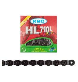 CHAIN KMC 1/2x1/8 HL710 BLK 1/2LINK 100L