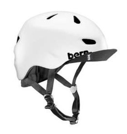 Bern, Brentwood, Helmet, Satin White, LXL