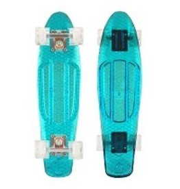 Mayhem Transparent Blue Deck and  Wheels