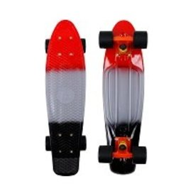 Mayhem Three Tone Deck and Black  Wheels