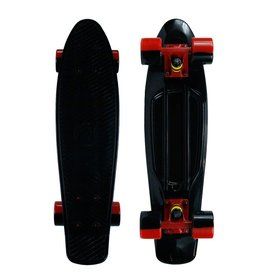 Mayhem Black Deck and Red Wheels