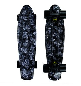 Mayhem Black Skull Deck and Black Wheels