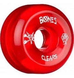 Skatepark Clear Red 56mm 4PK P5