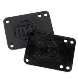 MINI LOGO SHOCK PADS RUBBER .5""