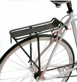 BIKE RACK RR DELTA MEGA ULTRA BK