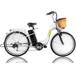 NAKTO CITY ELECTRIC BICYCLE 26' CAMEL