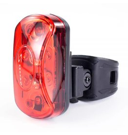 FIVE LED REAR FLASHER LIGHT - BATTERIES INCL.