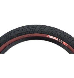 "Animal GLH Tire 20"" x 2.25"" Black with Maroon Sidewall"
