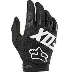 Fox Racing Dirtpaw Men's Full Finger Glove: Black LG