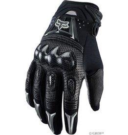Fox Racing Bomber Full Finger Glove: Black MD