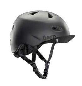 Bern, Brentwood, Helmet, Matte Black, 3XL