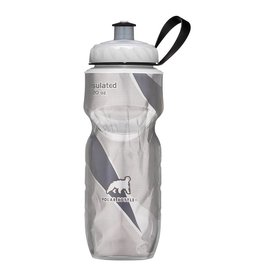 BOTTLE POLAR 20oz INS WHT/BLK SWOOSH