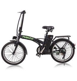 "NAKTO Foldable Electric Bicycle 20""FASHION (black)"
