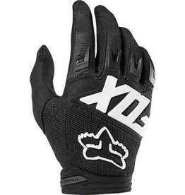 Fox Racing Dirtpaw Men's Full Finger Glove: Black SM