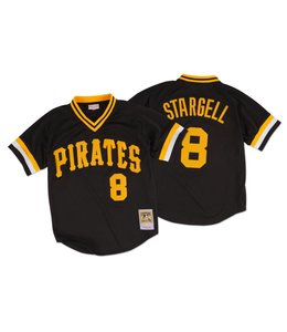 MITCHELL&NESS Willie Stargell 1982 Authentic Mesh BP Jersey Pittsburgh Pirates