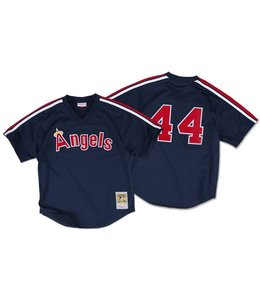MITCHELL&NESS Reggie Jackson 1984 Authentic Mesh BP Jersey California Angels