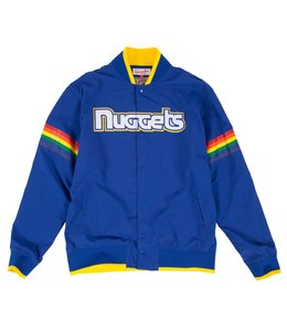 MITCHELL&NESS Nothing But Net Warm Up Jacket Denver Nuggets