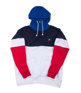 STAPLE EXPEDITION HALF ZIP HOOD