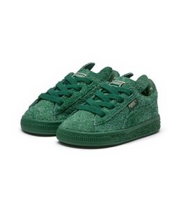 PUMA PUMA X TINYCOTTONS BASKET FURRY INFANT SNEAKERS