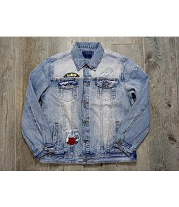 STAPLE ROSE PIGEON DENIM JACKET