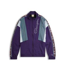 Champion EU Jacquard Logo Tape Tracksuit Jacket
