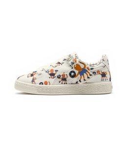 PUMA x TINYCOTTONS Basket Preschool Sneakers