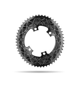 absoluteBLACK | Premium Road OVAL 110/4 BCD Chainring 52T