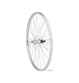 "Quality Wheels | Front Wheel Value Series 27"" 32h 100mm QR Formula / Alex AP18/ DT Factory Silver"