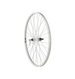 Quality Wheels | Value Series Silver Mountain Rear Wheel 700c Formula 135mm Freehub / Alex Y2000 Silver