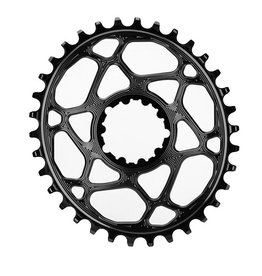 absoluteBLACK | Oval Boost 148 Traction Chainring for SRAM
