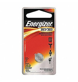 Energizer | 357/303 Silver Oxide Batteries: Card of 5