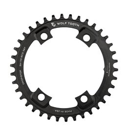 Wolf Tooth Components | 110 BCD Asymmetric 4-Bolt for Shimano Cranks