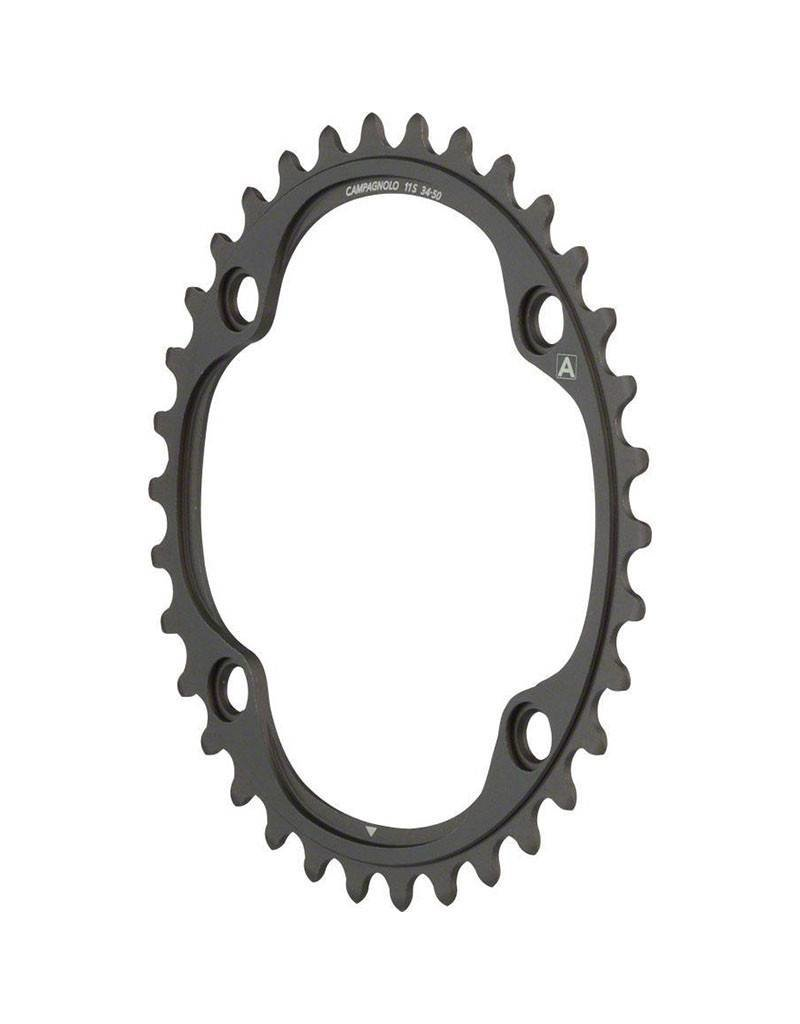 Campagnolo | 11 Speed Chainring and Bolt Set for 2015 and later Super Record, Record and Chorus