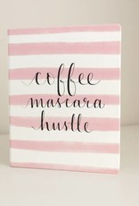 Eccolo Dayna Lee Large Notebook Coffee