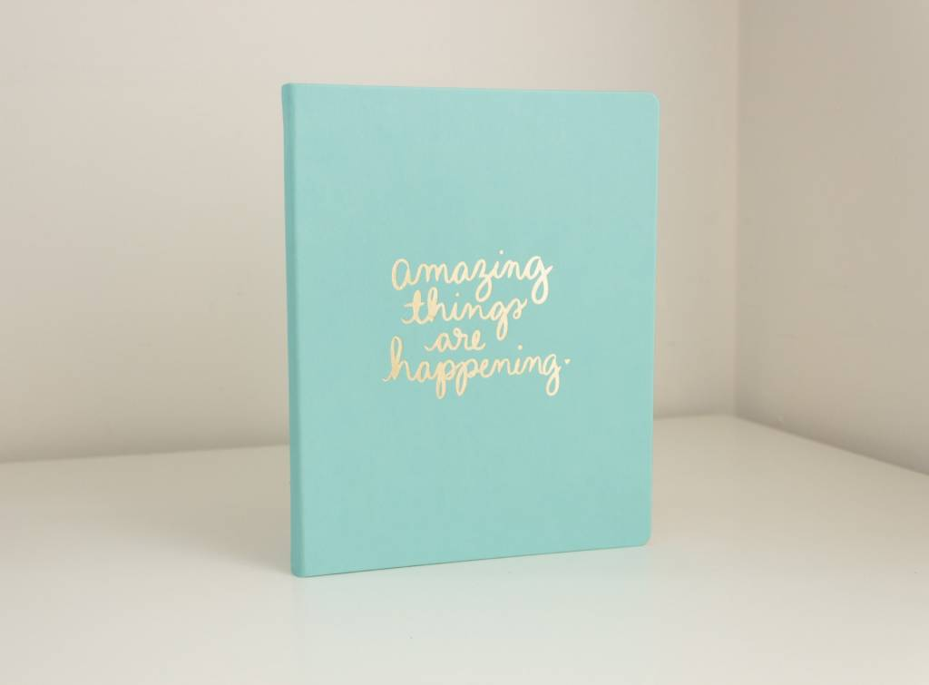 Eccolo Dayna Lee Large Notebook Mint