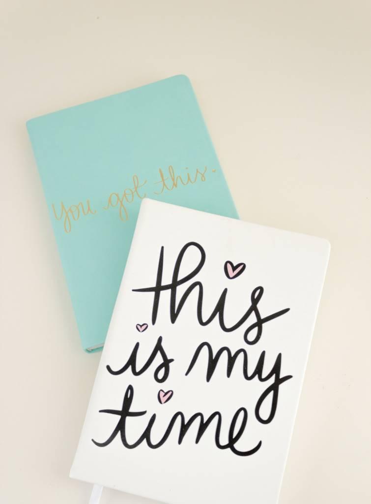 Eccolo Dayna Lee Small Notebook Cream