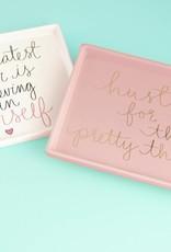 Eccolo Dayna Lee Trinket Tray Pink