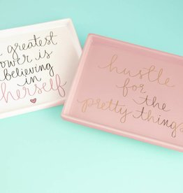 Eccolo Dayna Lee Trinket Tray Pink