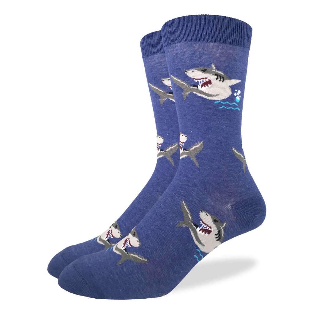 Good Luck Sock Sharks Crew Sock