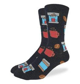 Good Luck Sock Coffee Crew Sock
