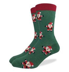 Good Luck Sock Santas Crew Sock