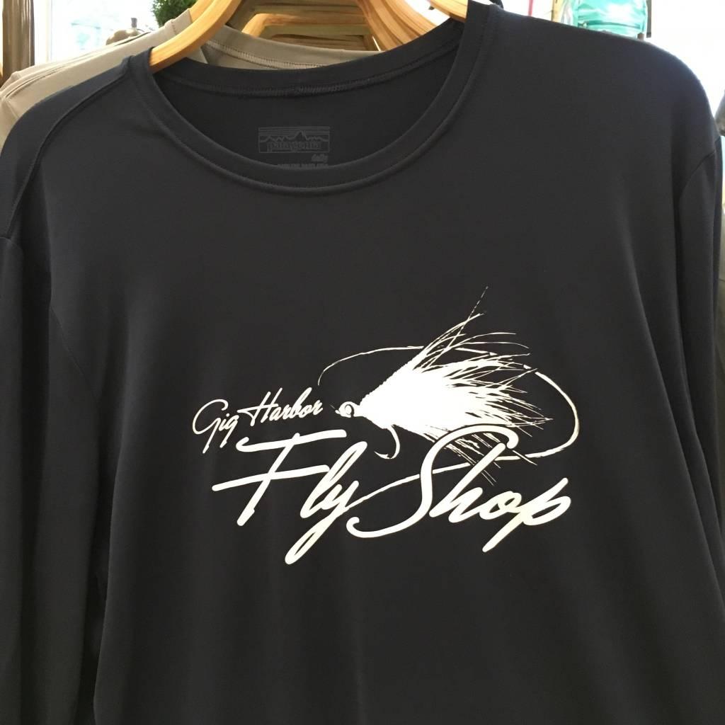 Patagonia Patagonia M's L/S Cap Daily T-Shirt - GHFS Logo,