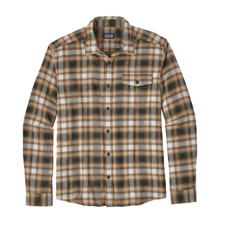 Patagonia Patagonia M's L/S LW Fjord Flannel Shirt,