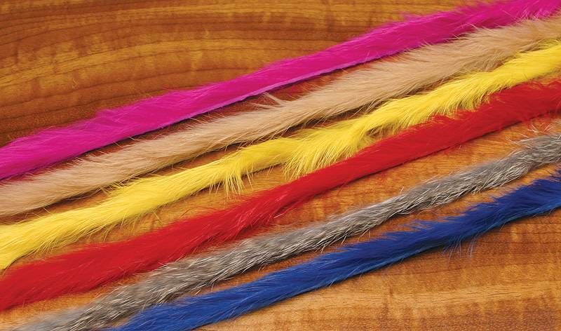 Hareline Dubbin Micro Rabbit Strips,