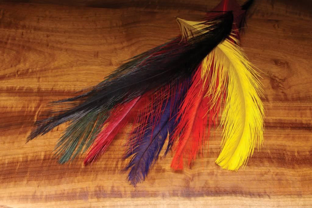 Hareline Dubbin Rhea Feather,