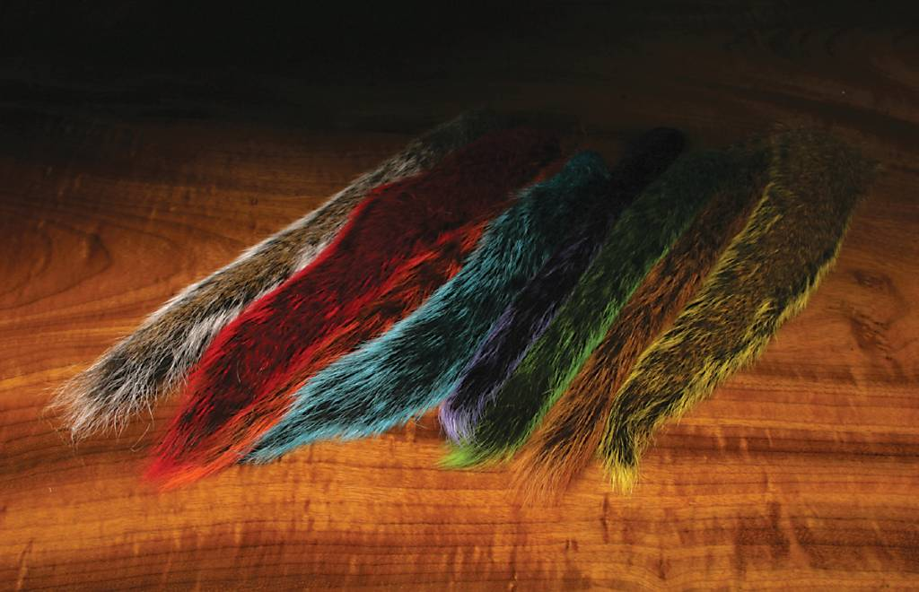 Hareline Dubbin Squirrel Tail,