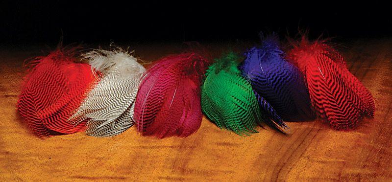 Hareline Dubbin Teal Flank Feathers,