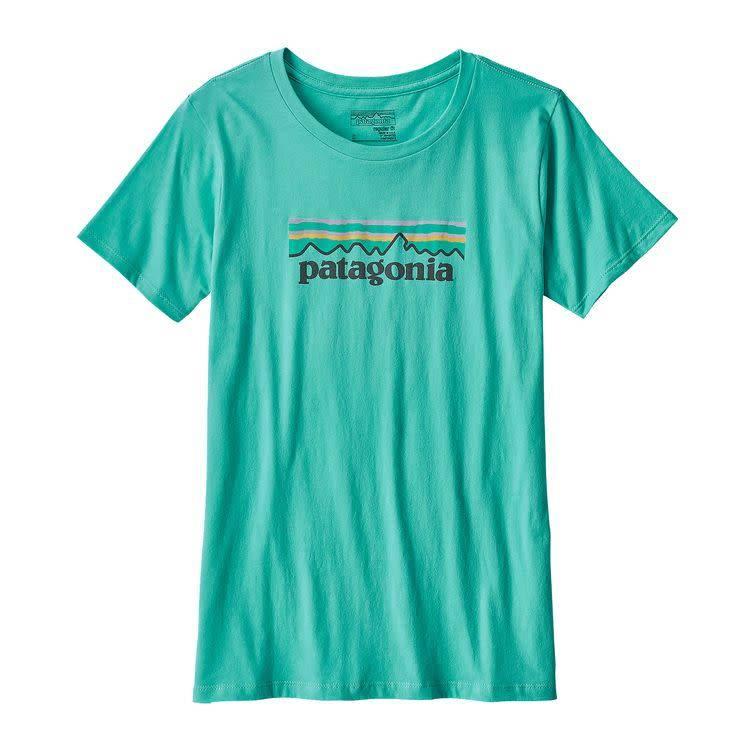 Patagonia Patagonia W's Pastel P-6 Logo Cotton Crew T-Shirt,