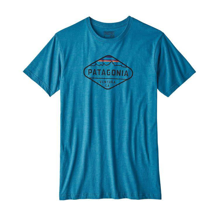 Patagonia Patagonia Men's Fitz Roy Crest Cotton/Poly T-Shirt